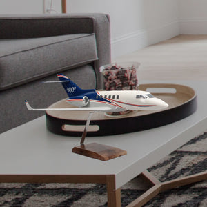 Hawker 900XP Limited Edition Large Mahogany Model
