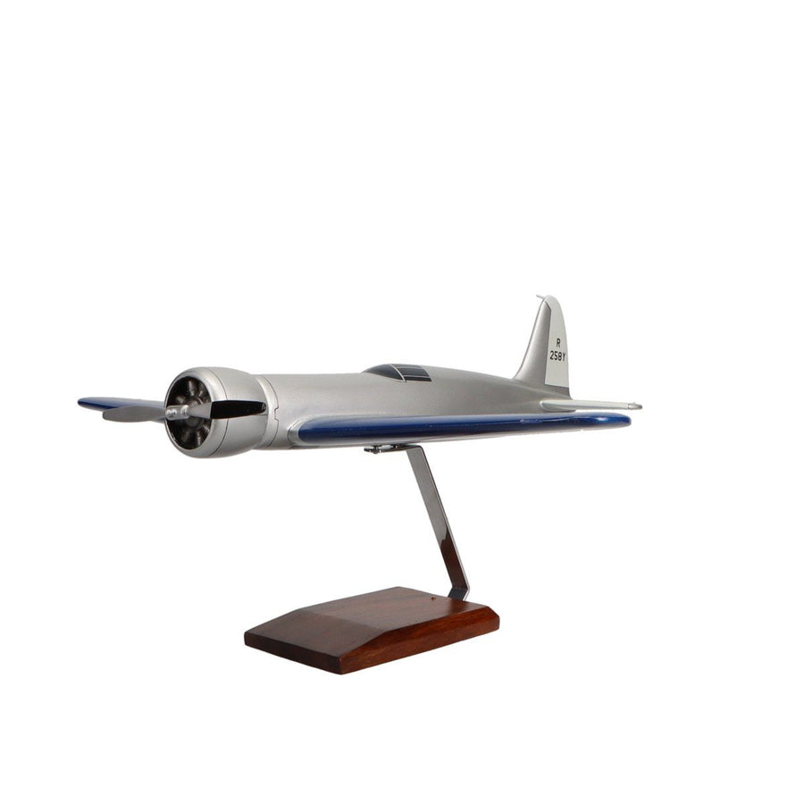 Aircraft Models - Hughes H-1 Racer Limited Edition Large Mahogany Model