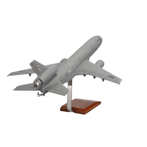 Aircraft Models - KC-10A Extender Gray  Limited Edition Large Mahogany Model