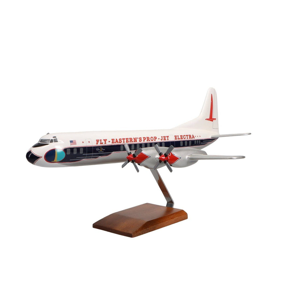 Aircraft Models - Lockheed L-188 Electra Limited Edition Large Mahogany Model
