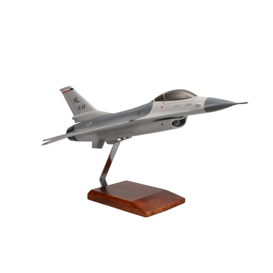 Aircraft Models - Lockheed Martin F-16 Fighting Falcon Limited Edition Large Mahogany Model