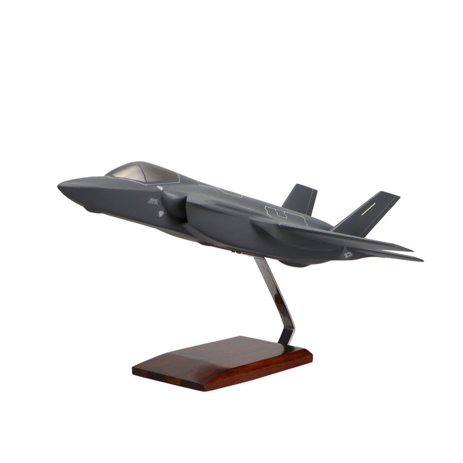 Aircraft Models - Lockheed Martin F-35A JSF/CTOL U.S. Air Force Limited Edition Large Mahogany Model
