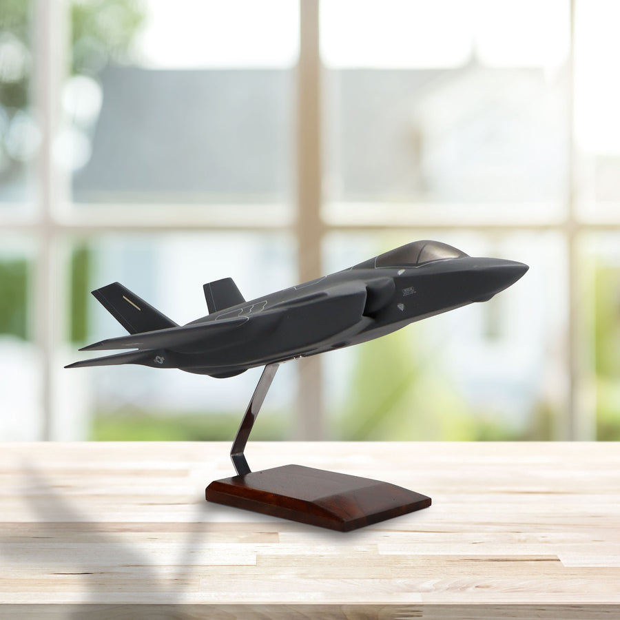 Lockheed Martin F-35A JSF/CTOL U.S. Air Force Limited Edition Large Mahogany Model
