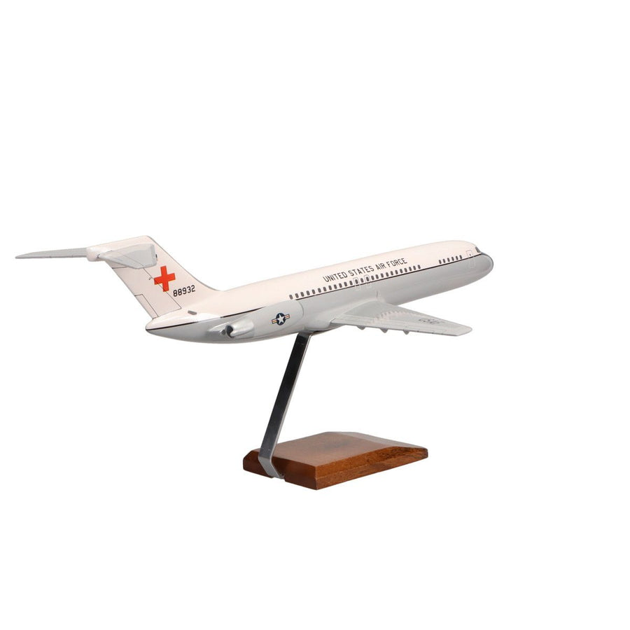 Aircraft Models - McDonnell Douglas C-9A Nightingale Limited Edition Large Mahogany Model