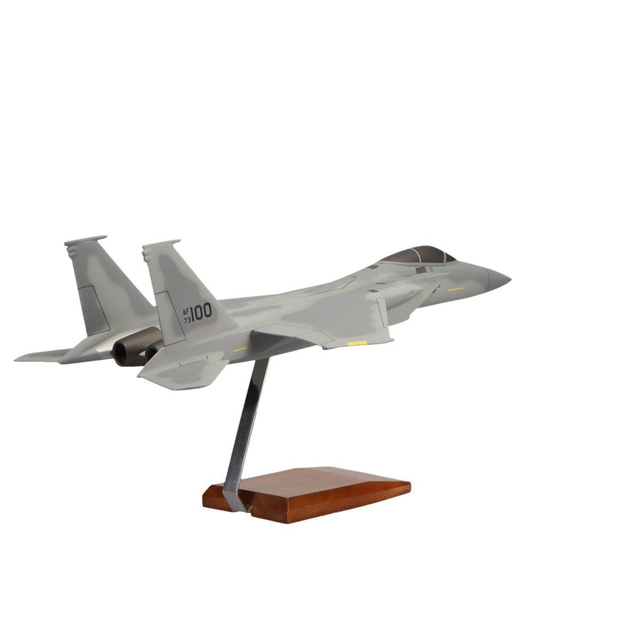 Aircraft Models - McDonnell Douglas F-15A Eagle Limited Edition Large Mahogany Model