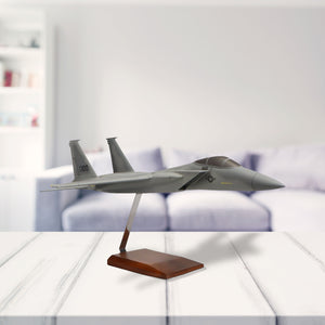 McDonnell Douglas F-15A Eagle Limited Edition Large Mahogany Model