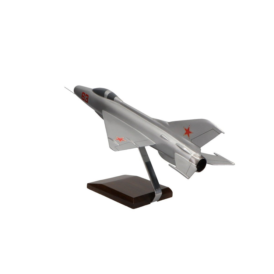 Aircraft Models - Mikoyan-Gurevich MiG-21 Limited Edition Large Mahogany Model
