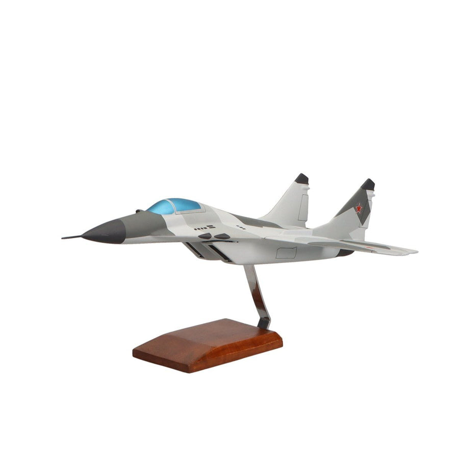 Aircraft Models - Mikoyan MiG-29 Fulcrum Limited Edition Large Mahogany Model