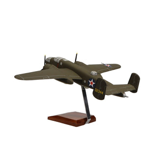 "Aircraft Models - North American B-25B Mitchell ""Doolittle Raiders"" Limited Edition Large Mahogany Model"