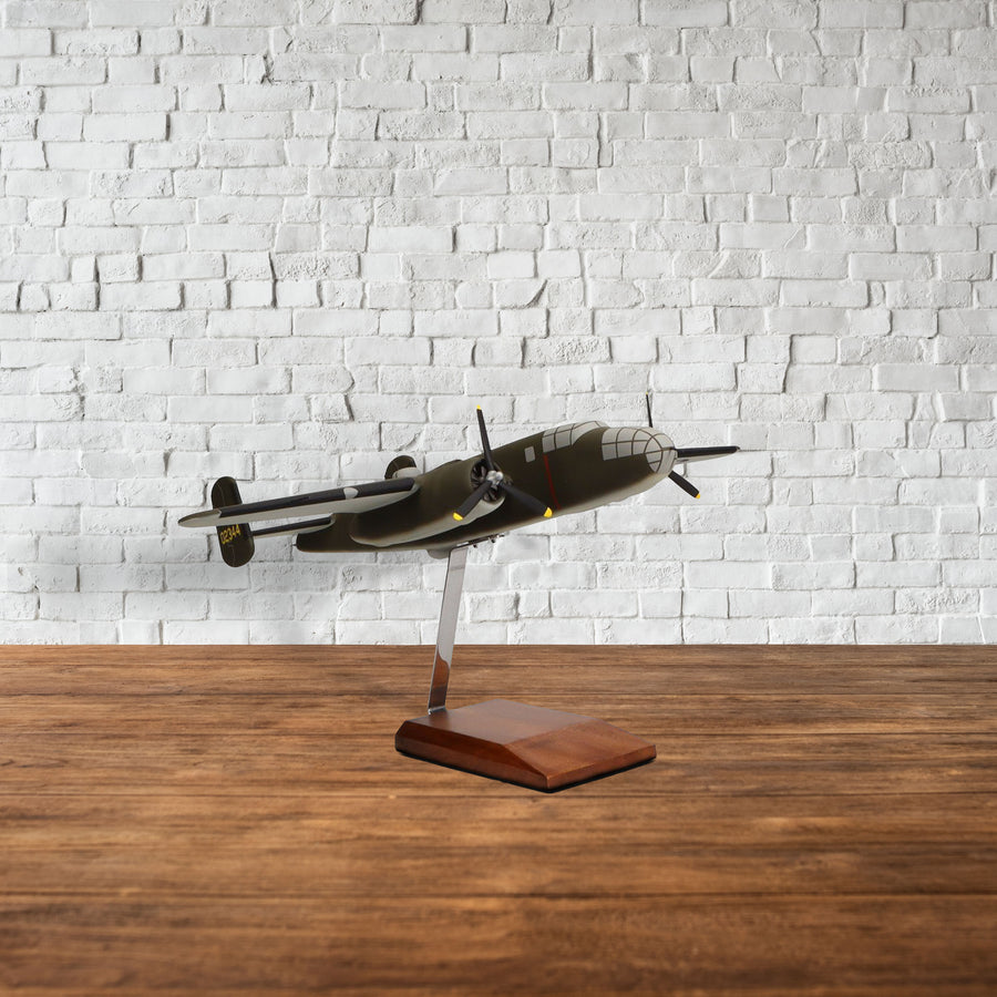 "North American B-25B Mitchell ""Doolittle Raiders"" Limited Edition Large Mahogany Model"