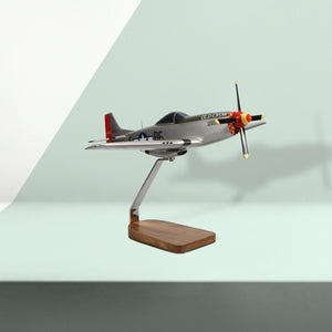 "North American P-51D Mustang ""Old Crow"" Limited Edition Large Mahogany Model"