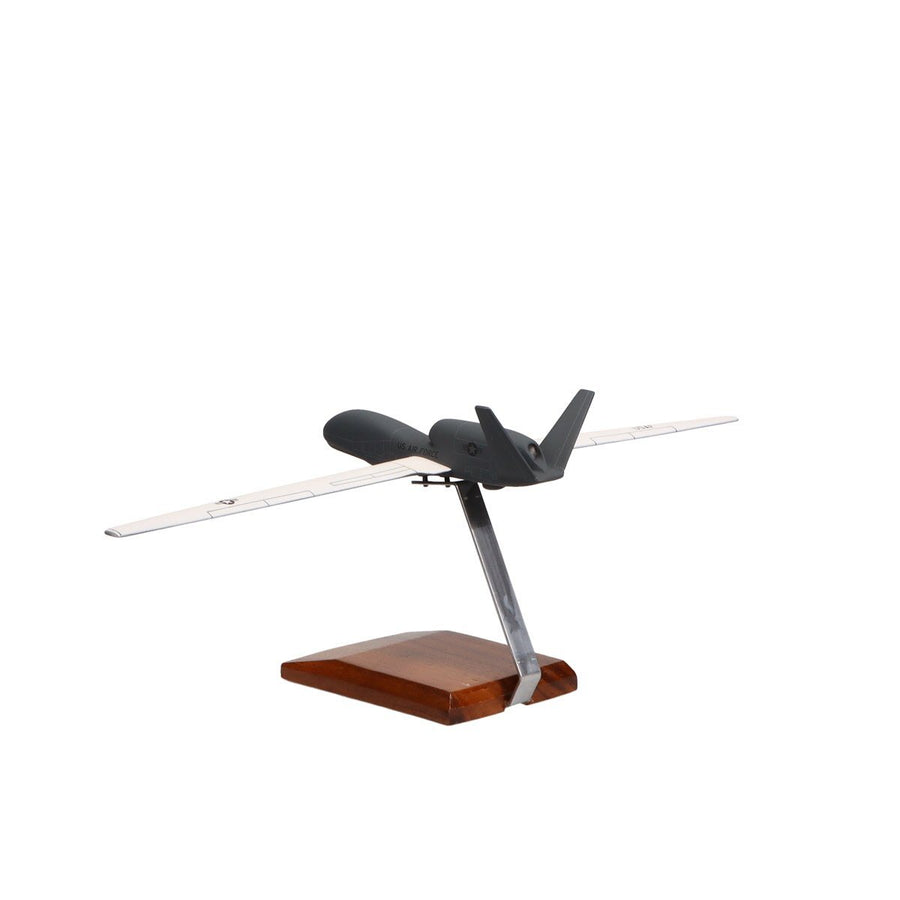 Aircraft Models - Northrop Grumman RQ-4A Global Hawk U.S. Air Force Limited Edition Large Mahogany Model