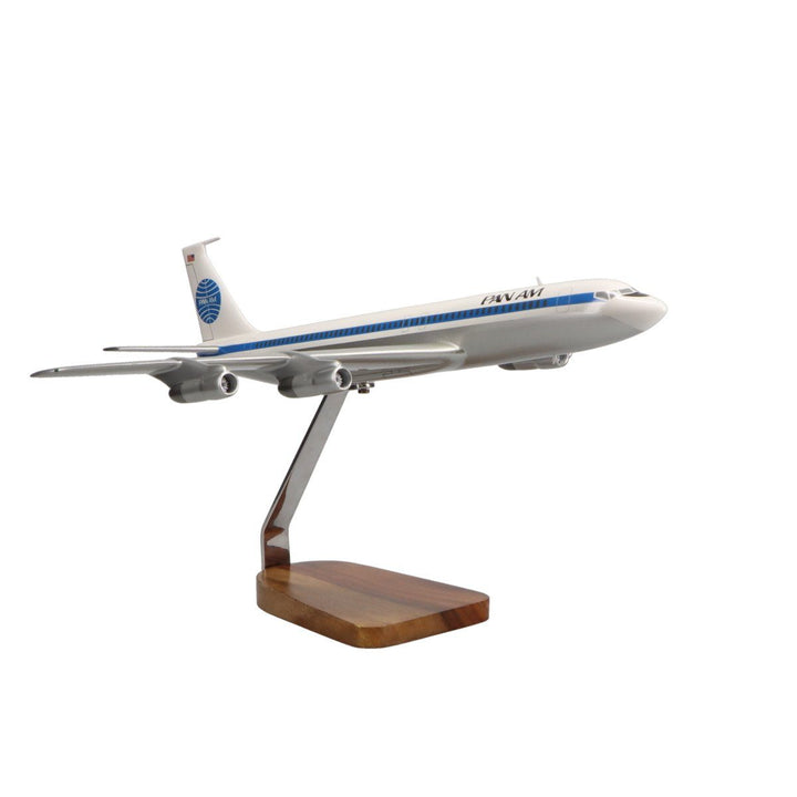 Aircraft Models - Pan American B707-320 Limited Edition Large Mahogany Model