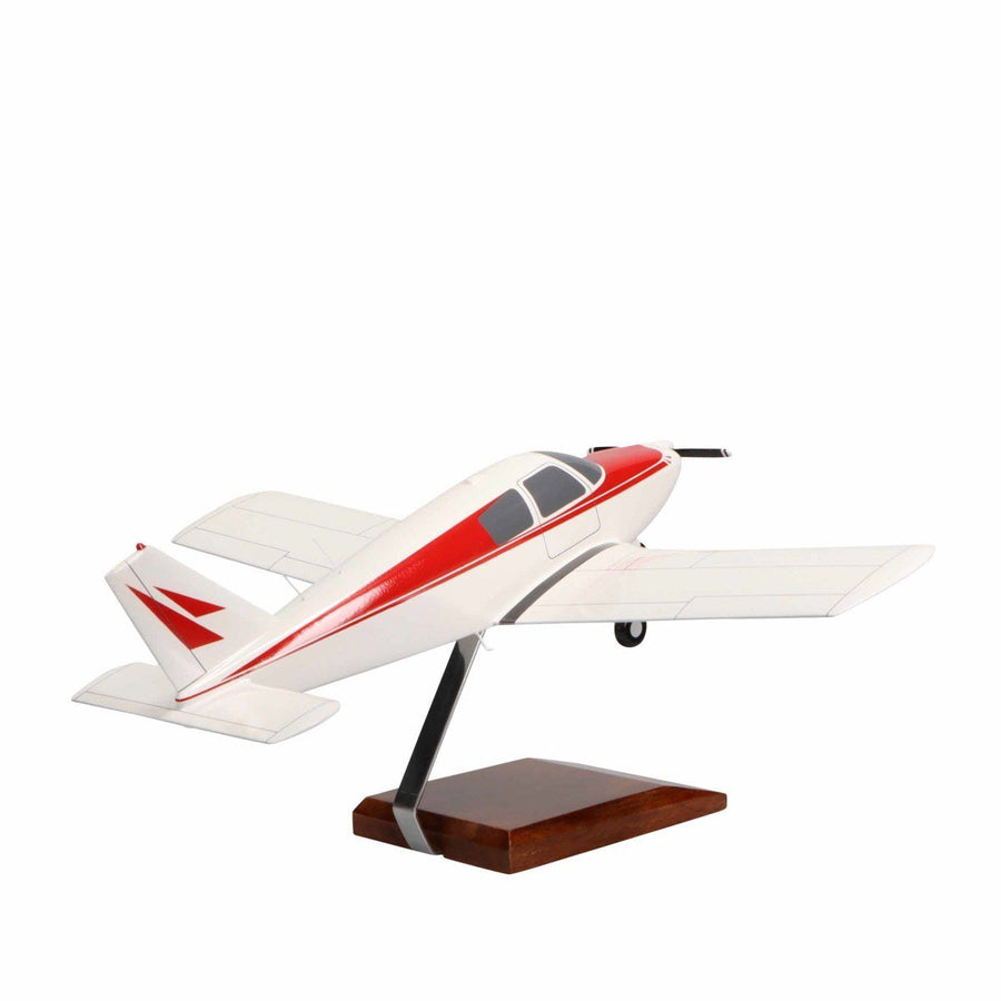 Aircraft Models - Piper PA-28 Cherokee Limited Edition Large Mahogany Model