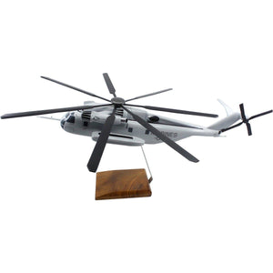 Aircraft Models - Sikorsky CH-53E Super Sea Stallion Limited Edition Large Mahogany Model