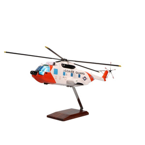 Aircraft Models - Sikorsky HH-3F Pelican Limited Edition Large Mahogany Model