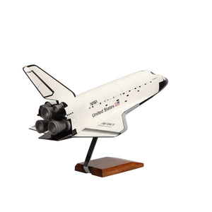 Aircraft Models - Space Shuttle Endeavour Orbiter OV-105 Limited Edition Large Mahogany Model