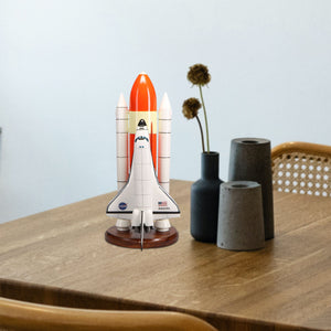 Space Shuttle F/S Atlantis Limited Edition Large Mahogany Model