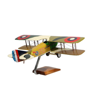 "Aircraft Models - Spad XIII ""Smith IV Limited Edition Large Mahogany Model"
