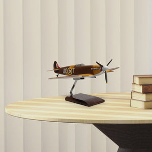 Supermarine Spitfire Limited Edition Large Mahogany Model