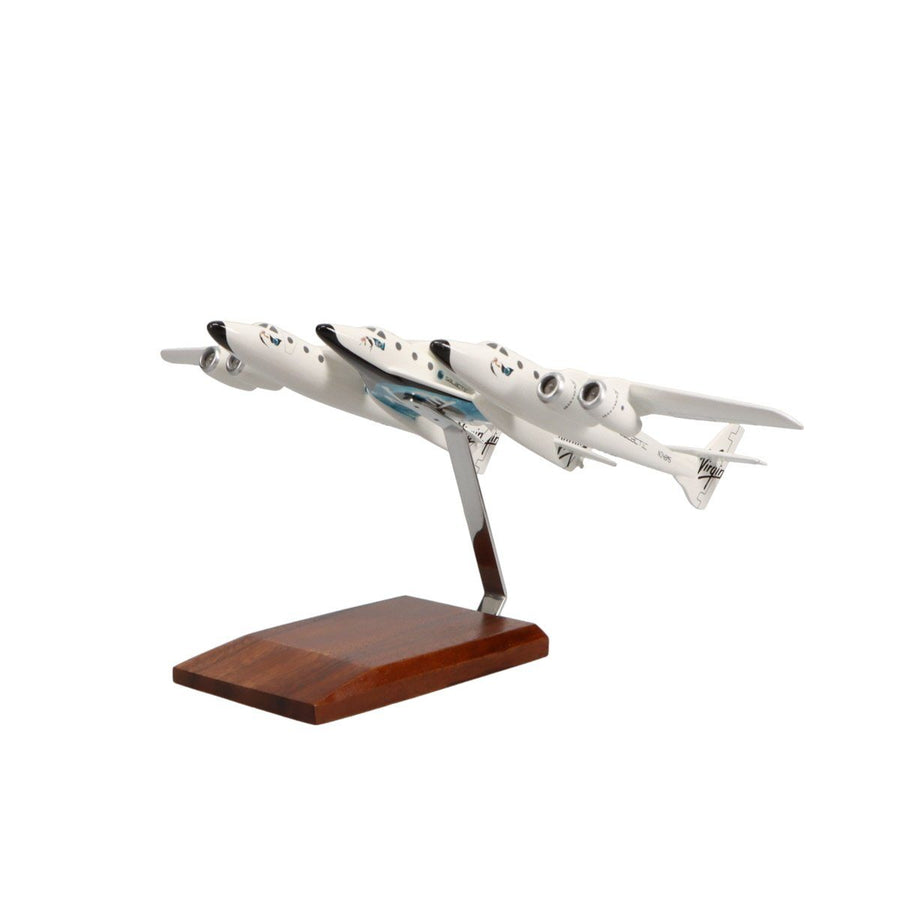 Aircraft Models - Virgin Galactic White Knight Two Carrying SpaceShipTwo Limited Edition Large Mahogany Model