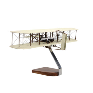 "Aircraft Models - Wright Flyer ""Orville And Wilbur Wright"" Large Mahogany Model"
