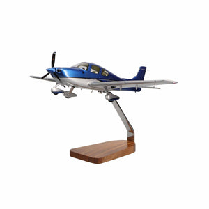 Cirrus SR22 Clear Canopy Limited Edition Large Mahogany Model