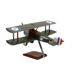 Sopwith Camel Limited Edition Large Mahogany Model