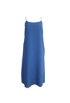 Indigo Blue Sleeveless Cotton Dress