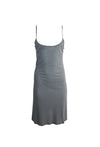 Grey Sleeveless Slip Dress