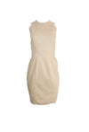 Light Brown Sleeveless Dress