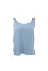 Light Blue Sleeveless Tank Top