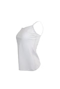 White Sleeveless Tank Top