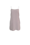 Mauve Sleeveless Slip Dress