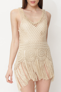 VNK Crochet Sleeveless Dress
