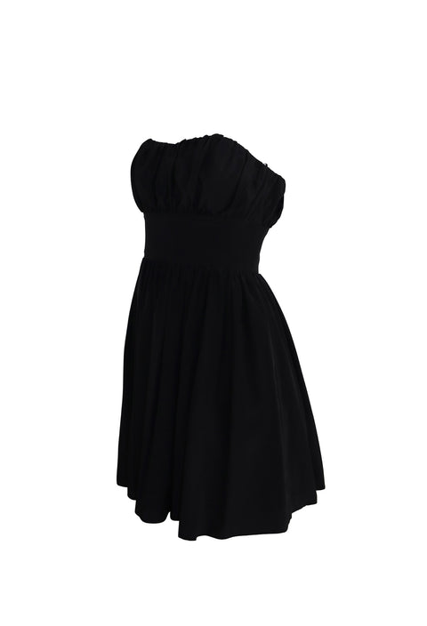 Strapless Black Tutu Dress