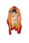 Bright Red Gustav Klimt Cover Up