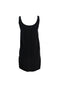 Black Sleeveless Slip Dress