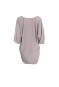 Mauve Long Sleeve Loose Dress