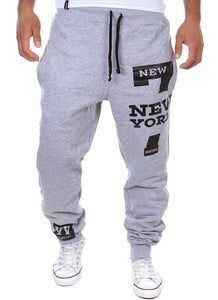Cottory Men's Harem Casual Baggy Hiphop Dance Jogger Sweatpants Trousers Light Grey X-Small