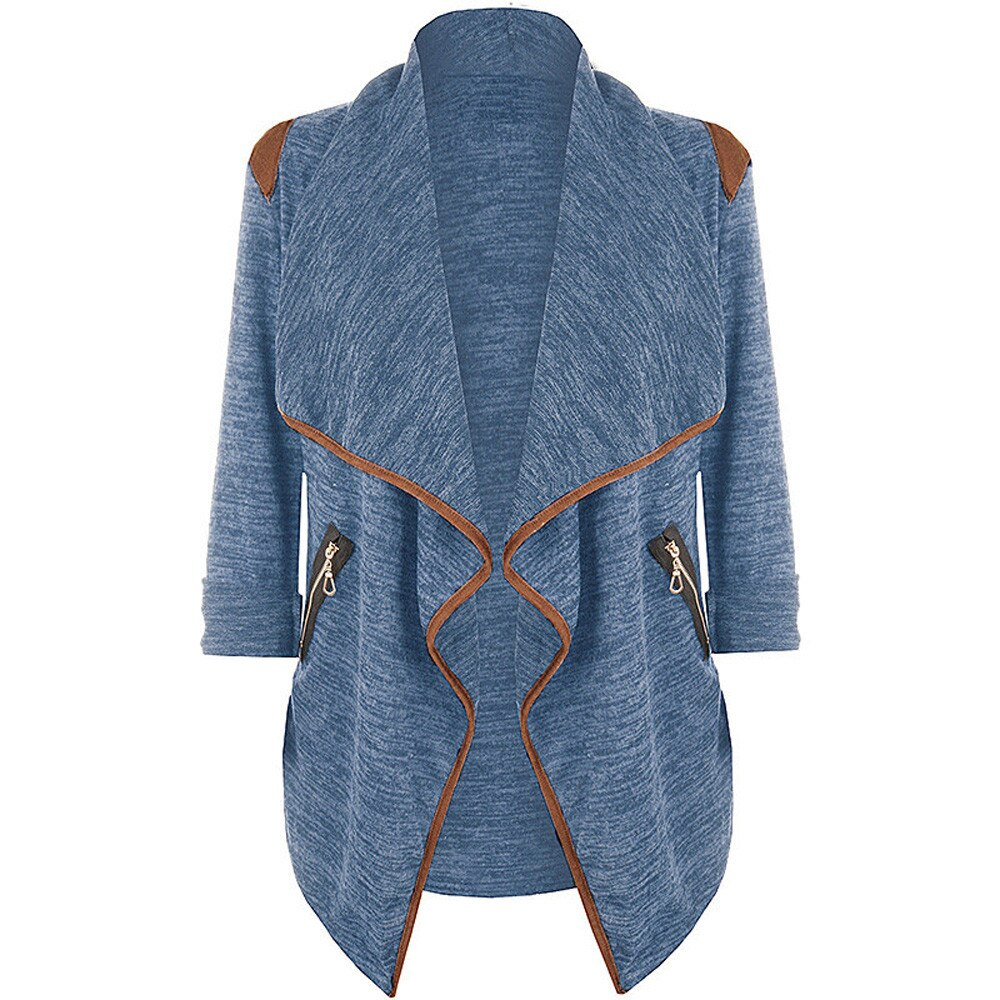 Knitted Casual Brief Cardigan Stylish Tops Jacket Pretty & Glamorous Soft Outwear