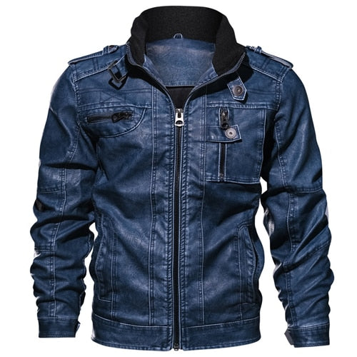 Men's Slim Fit Leisure Outwear Bomber Winderbreaker Jackets