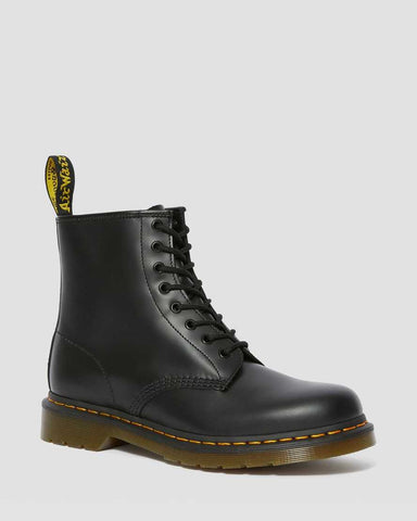 DR MARTENS 1460 SMOOTH LEATHER ANKLE BOOTS - BLACK SMOOTH