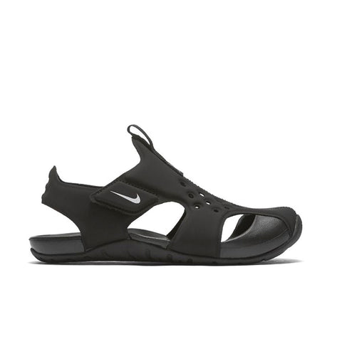 INFANT NIKE SUNRAY PROTECT SANDAL - BLACK/WHITE