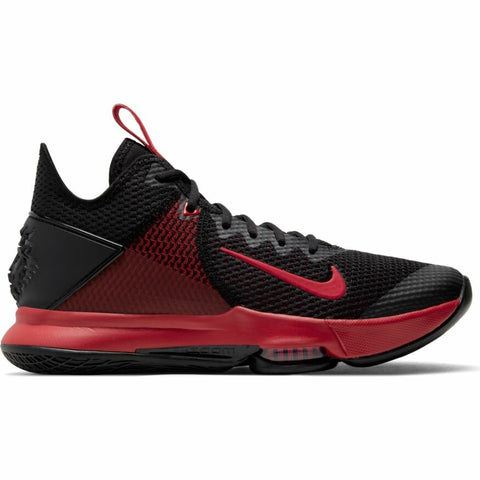NIKE LEBRON WITNESS IV - BLACK/ GYM RED-BRIGHT CRIMSON