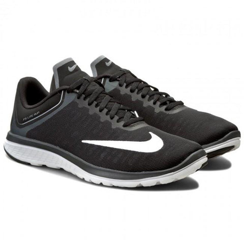 NIKE FS LITE RUN 4 - BLACK/WHITE/GREY