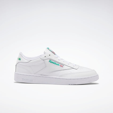 REEBOK CLUB C 85 - WHITE/GREEN