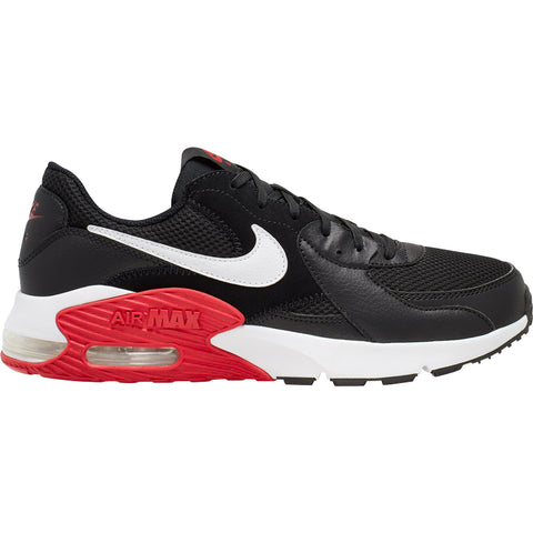 NIKE AIR MAX EXCEE - BLACK/WHITE-UNIVERSITY RED