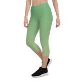 Capri Leggings & Activewear - Green | TopGurl Printed Athleisure - TOPGURL
