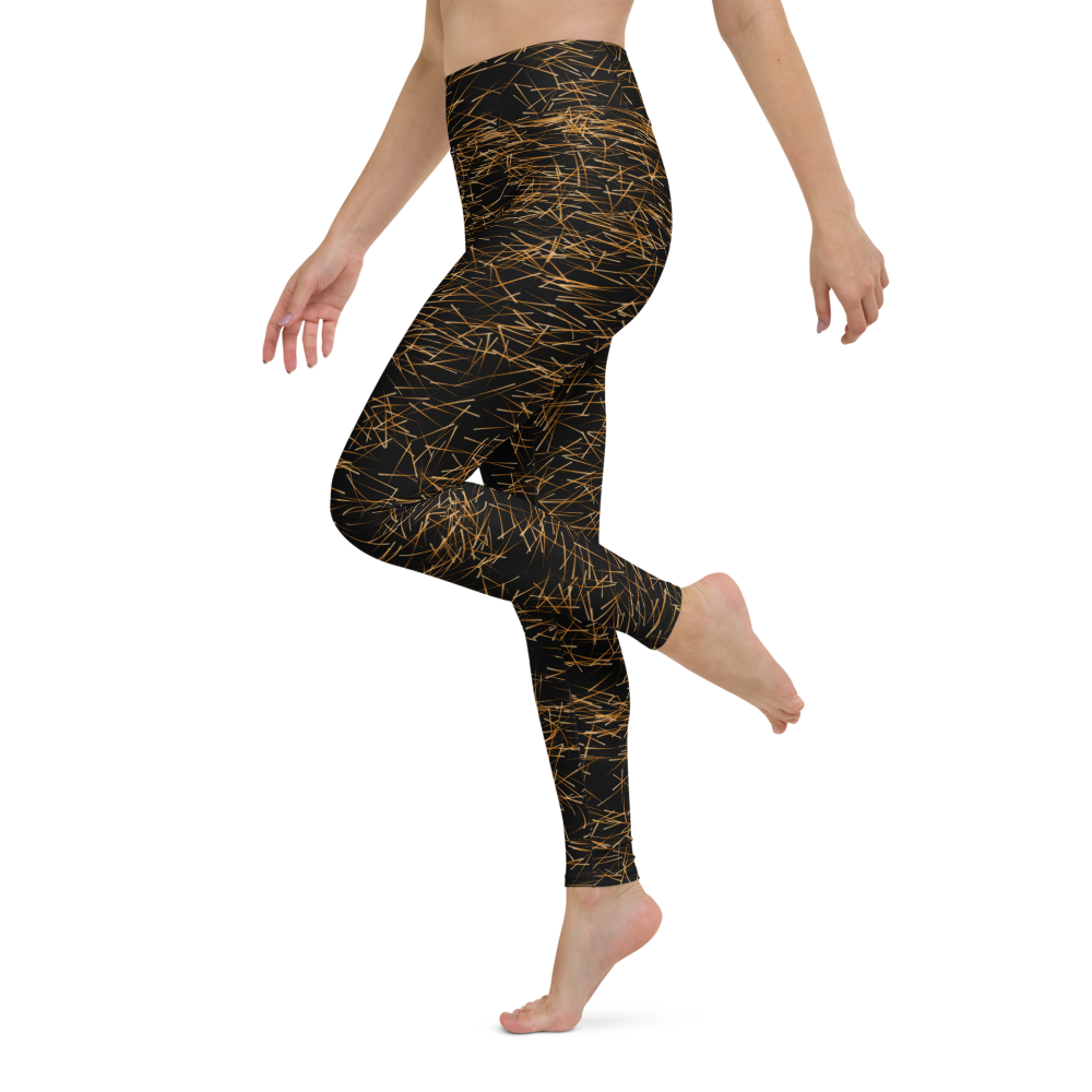 Yoga Pants & High Waist Leggings - Sparks Racing | TopGurl Workout Printed Activewear Athleisure - TOPGURL